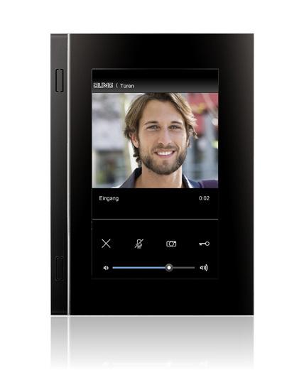 Touchscreen-Panel von JUNG für die gesamte Gebäudetechnik