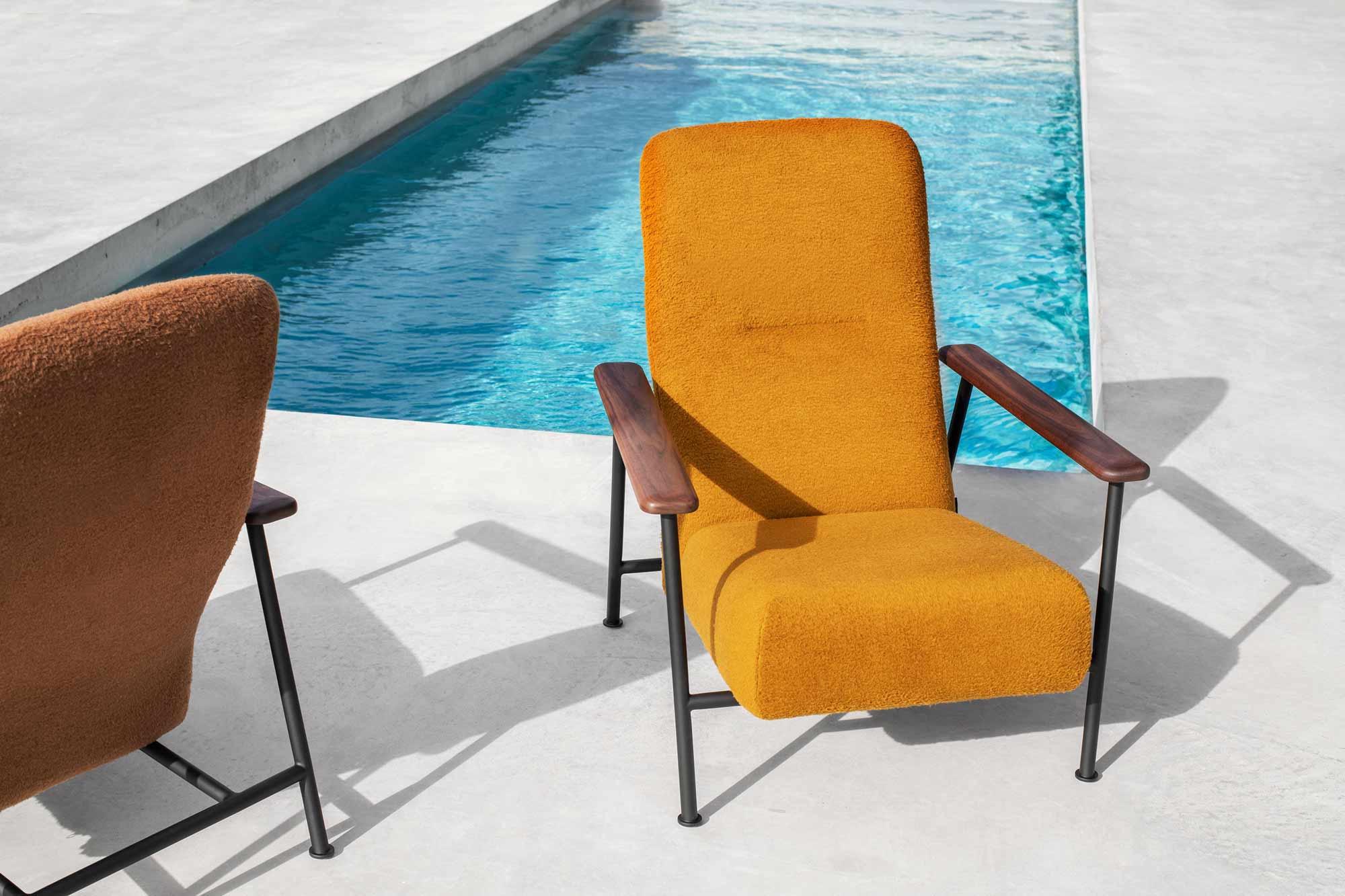 Sportlich gemütlicher Sessel von Chris Martin für Massproductions