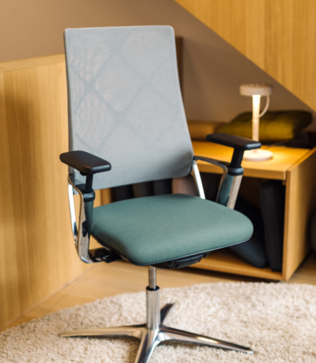 Öko-zertifizierter Möbelstoff von Klöber