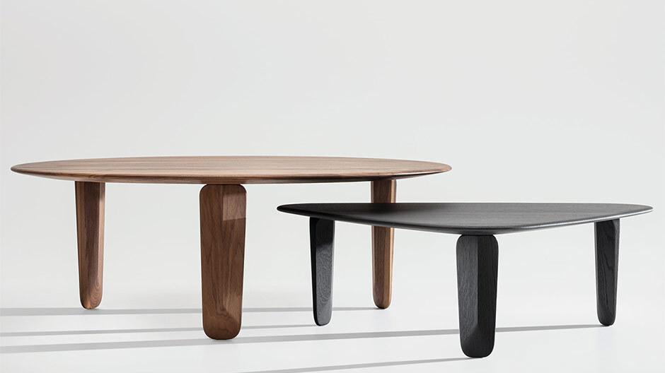 Massivholztisch von Formstelle für Zeitraum
