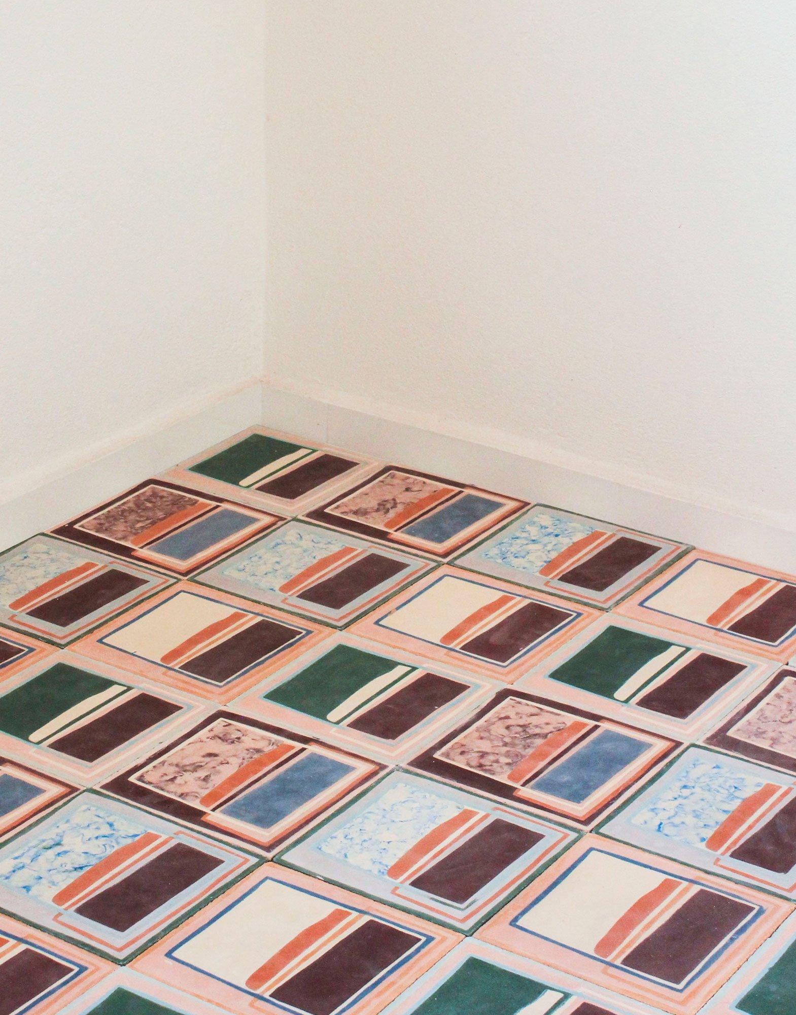 Kunstvolle Zementfliesenunikate aus Marrakesch von LRNCE