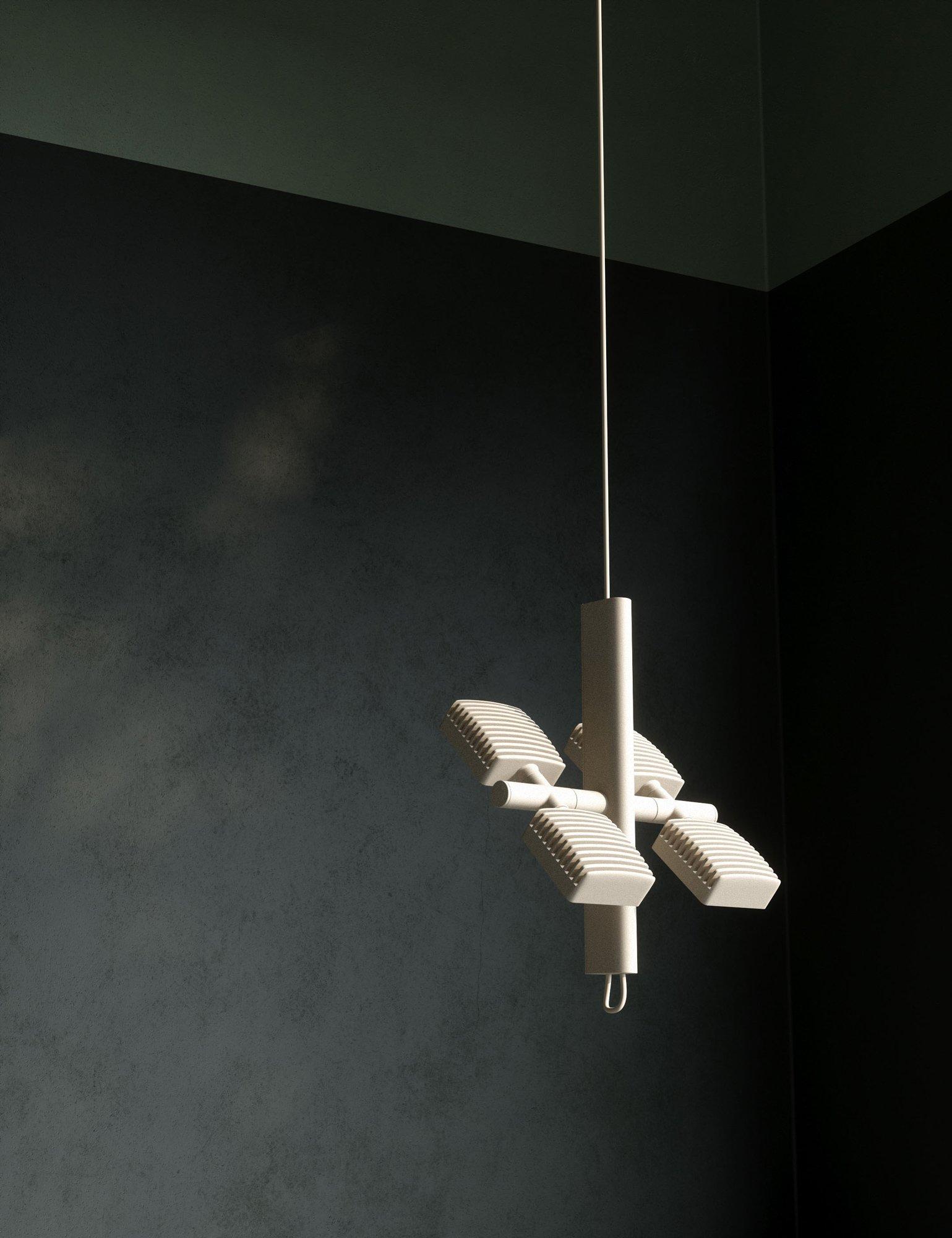 Von einer Raumstation inspirierte Leuchtenkollektion von SCMP Design Office und Lambert & Fils