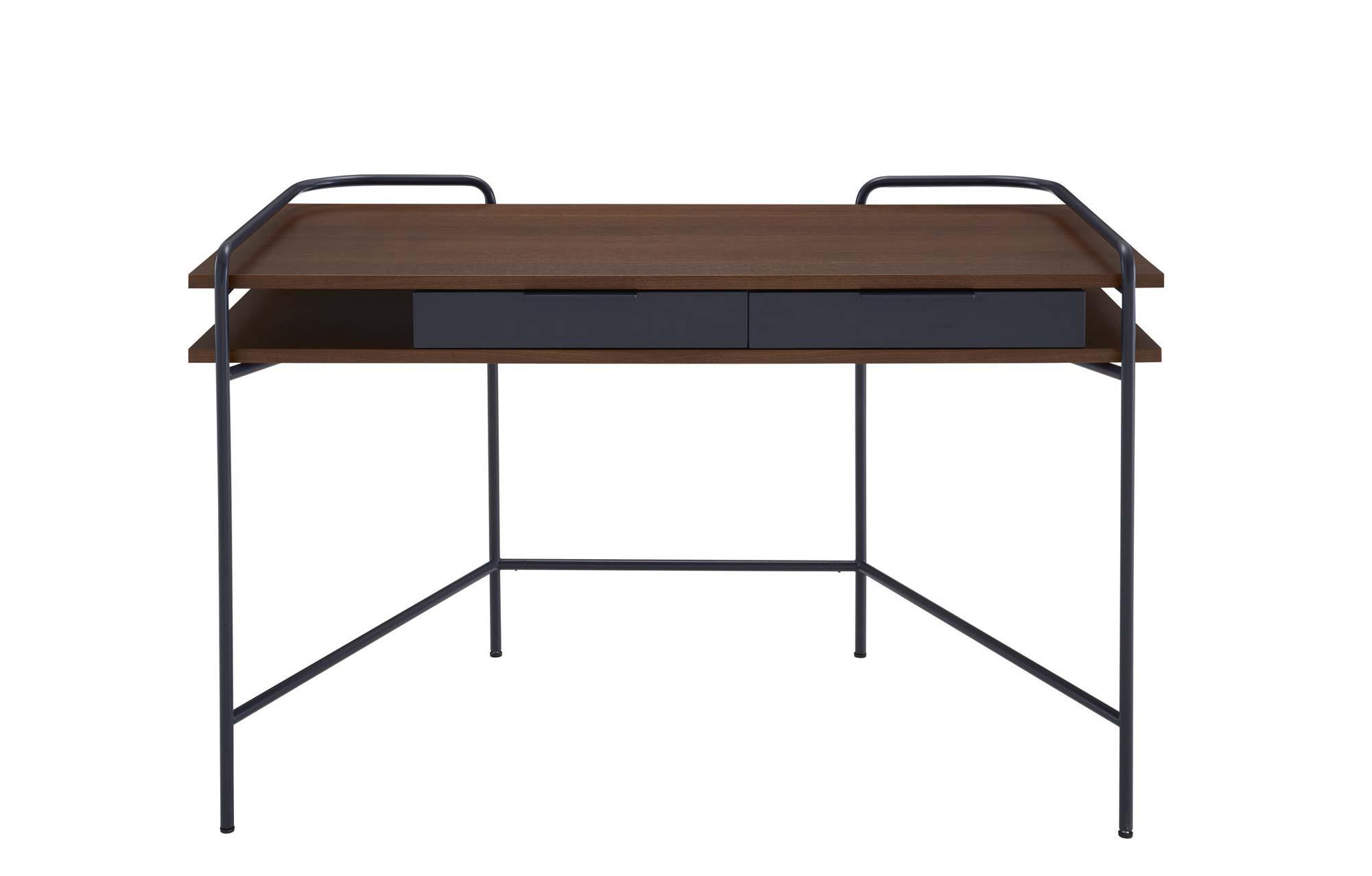 Schreibtisch und Anrichte im Fünfzigerjahre-Stil von Eric Jourdan für Ligne Roset