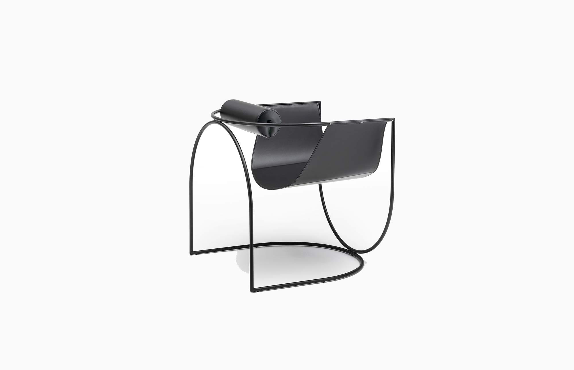 Skulpturaler Sessel von Marco Lavit für Living Divani