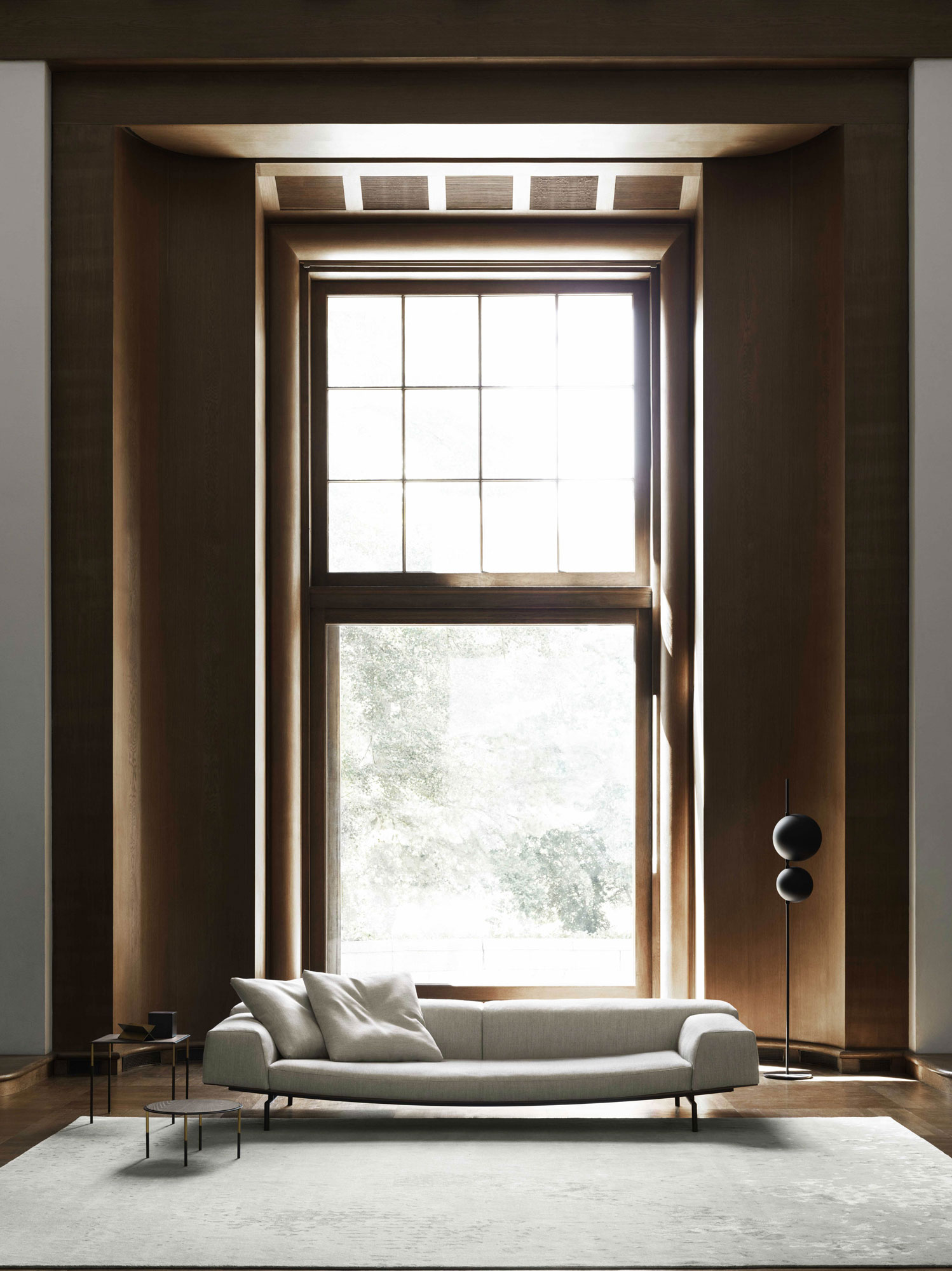 Elegant harmonisches Sofa von Piero Lissoni für Living Divani