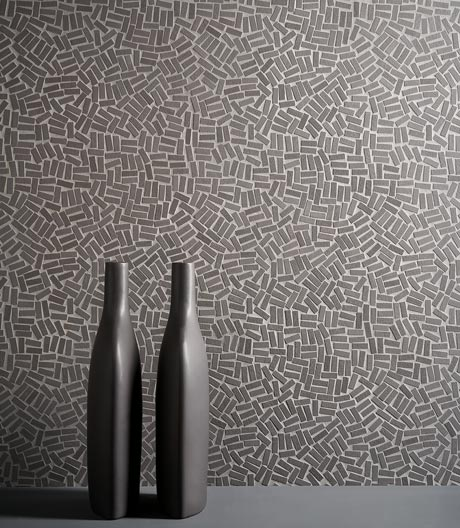 Marialaura Rossiella setzt in ihrem Entwurf für Mosaico+ auf Textur und Unregelmäßigkeit