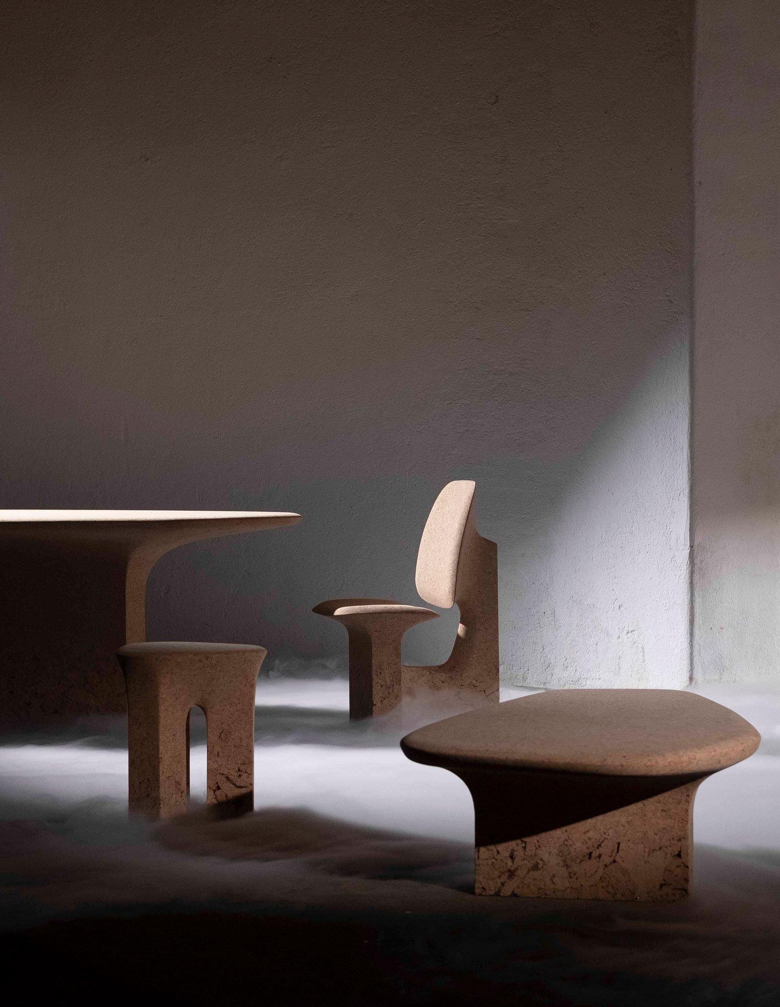 Außergewöhnliche Korkmöbel von Noé Duchaufour-Lawrance