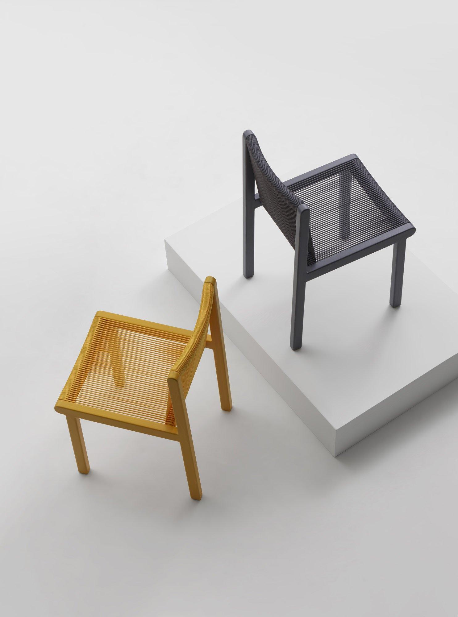 Elastischer Stuhl von Ronan und Erwan Bouroullec für Mattiazzi