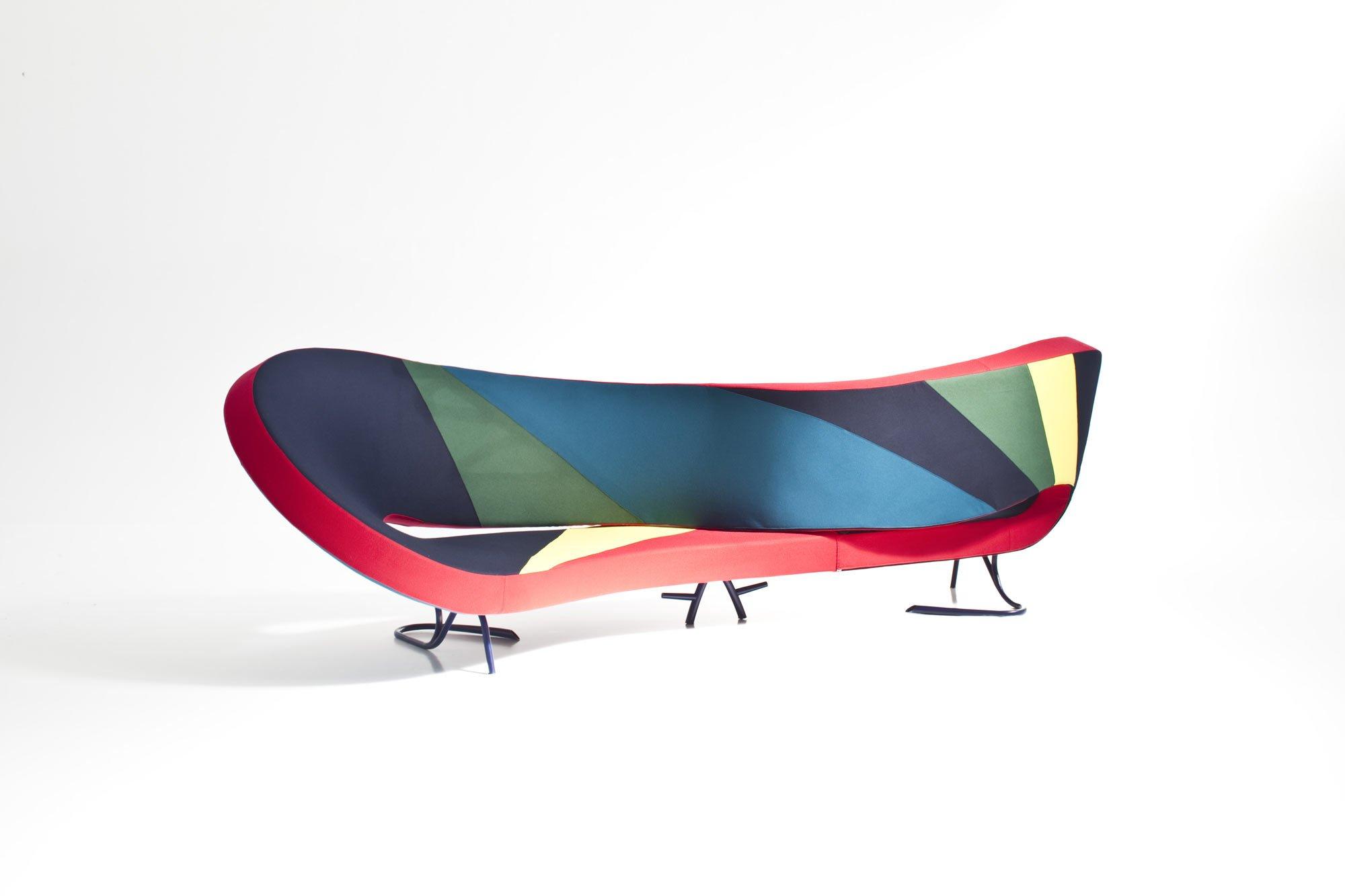 Sitzmöbelkollektion von Martino Gamper zum 60. Moroso-Jubiläum