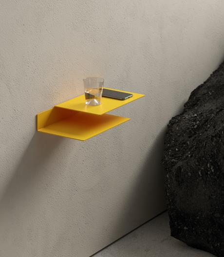 Minimalistische und vielseitige Wand- und Tischregale von New Tendency