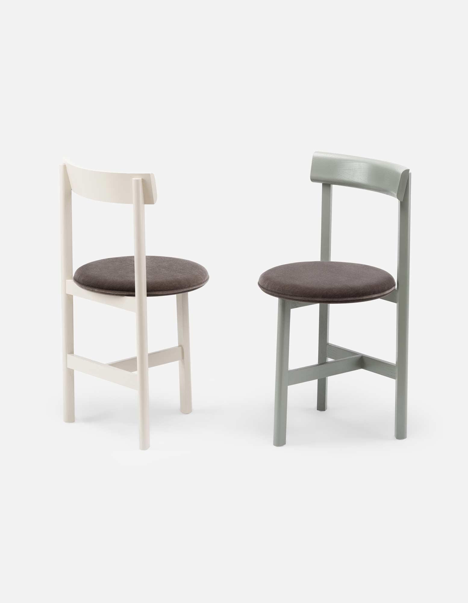 Kompakter Stuhl von Neri & Hu für De La Espada