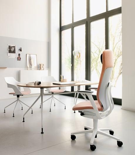 Sportlich-schlanker Bürostuhl von Wilkhahn