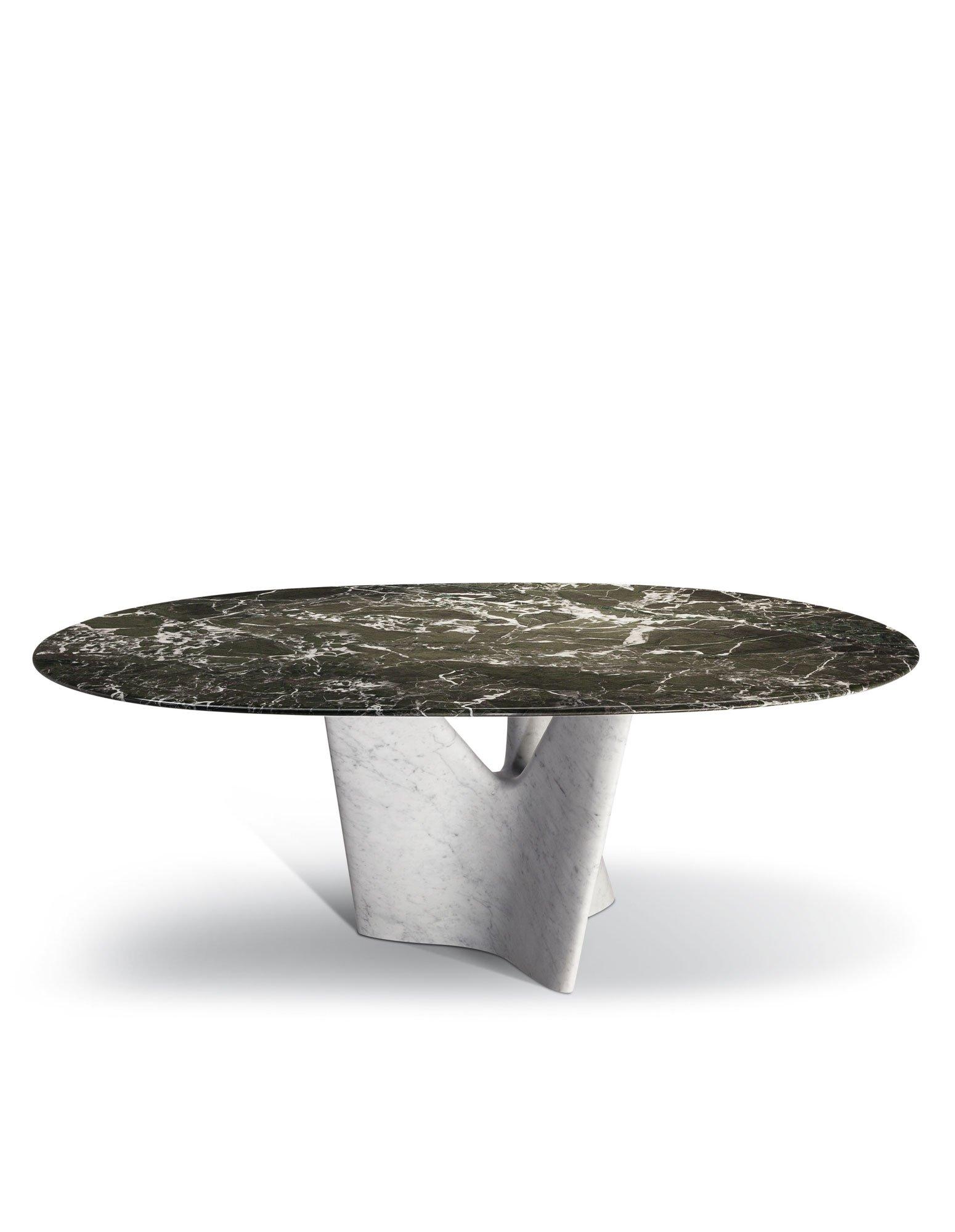 Einzigartiger Marmortisch von Roberto Lazzeroni für Poltrona Frau