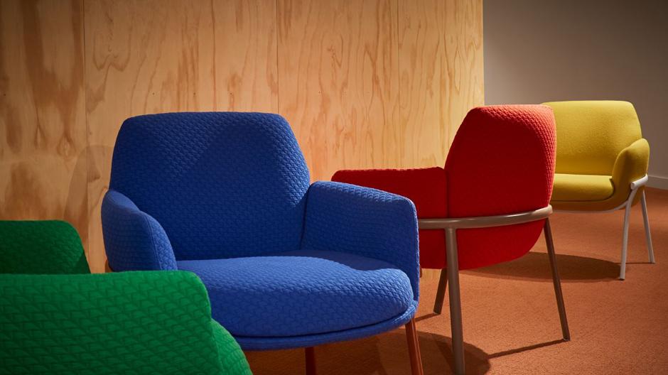 Bequem im Büro:Loungestuhl von Patricia Urquiola für Haworth