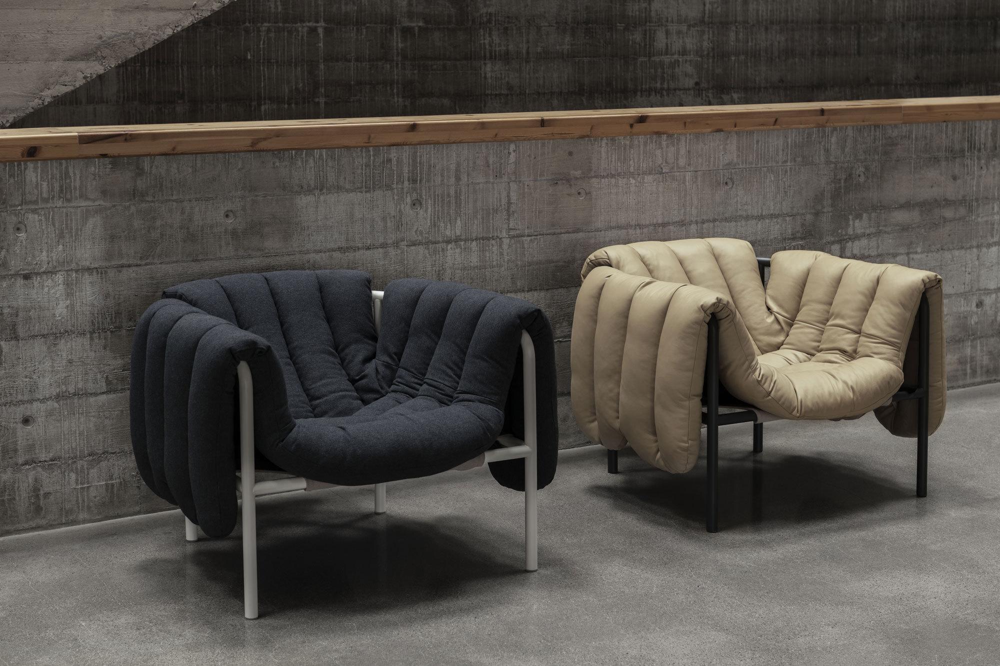 Ausladener Sessel von Faye Toogood für Hem
