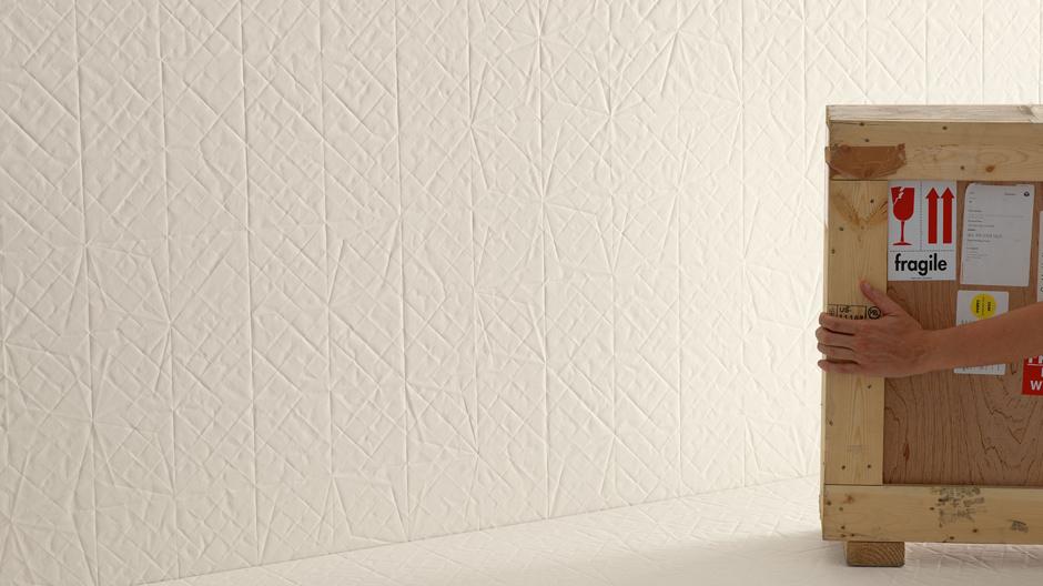 Von Paper inspirierte Keramikfliesen von Raw-Edges für Mutina