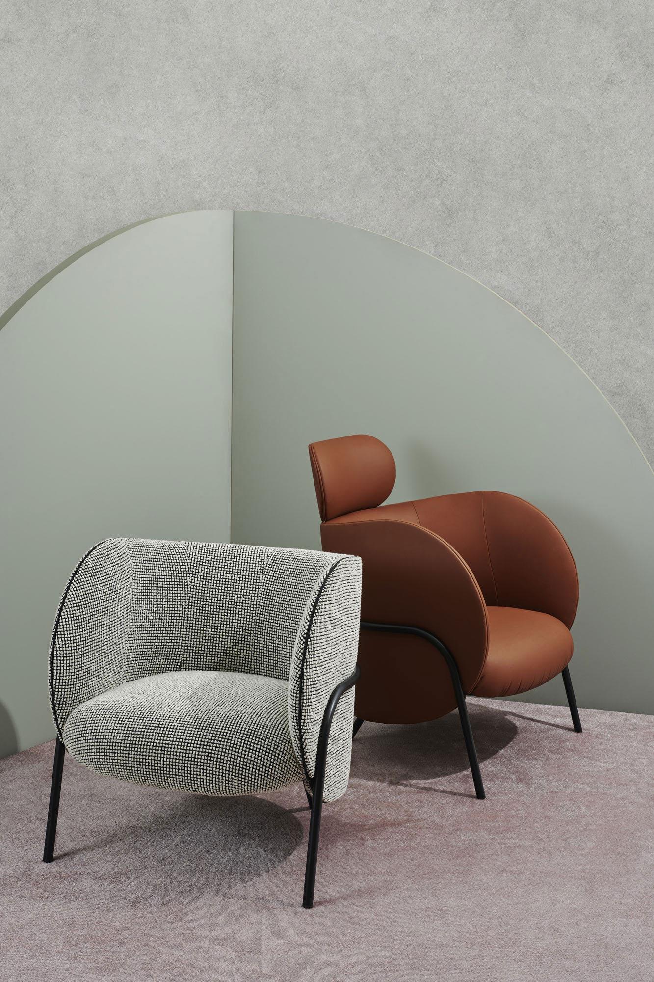 Kompakter Sessel von Nikolai Kotlarczyk für SP01 Design