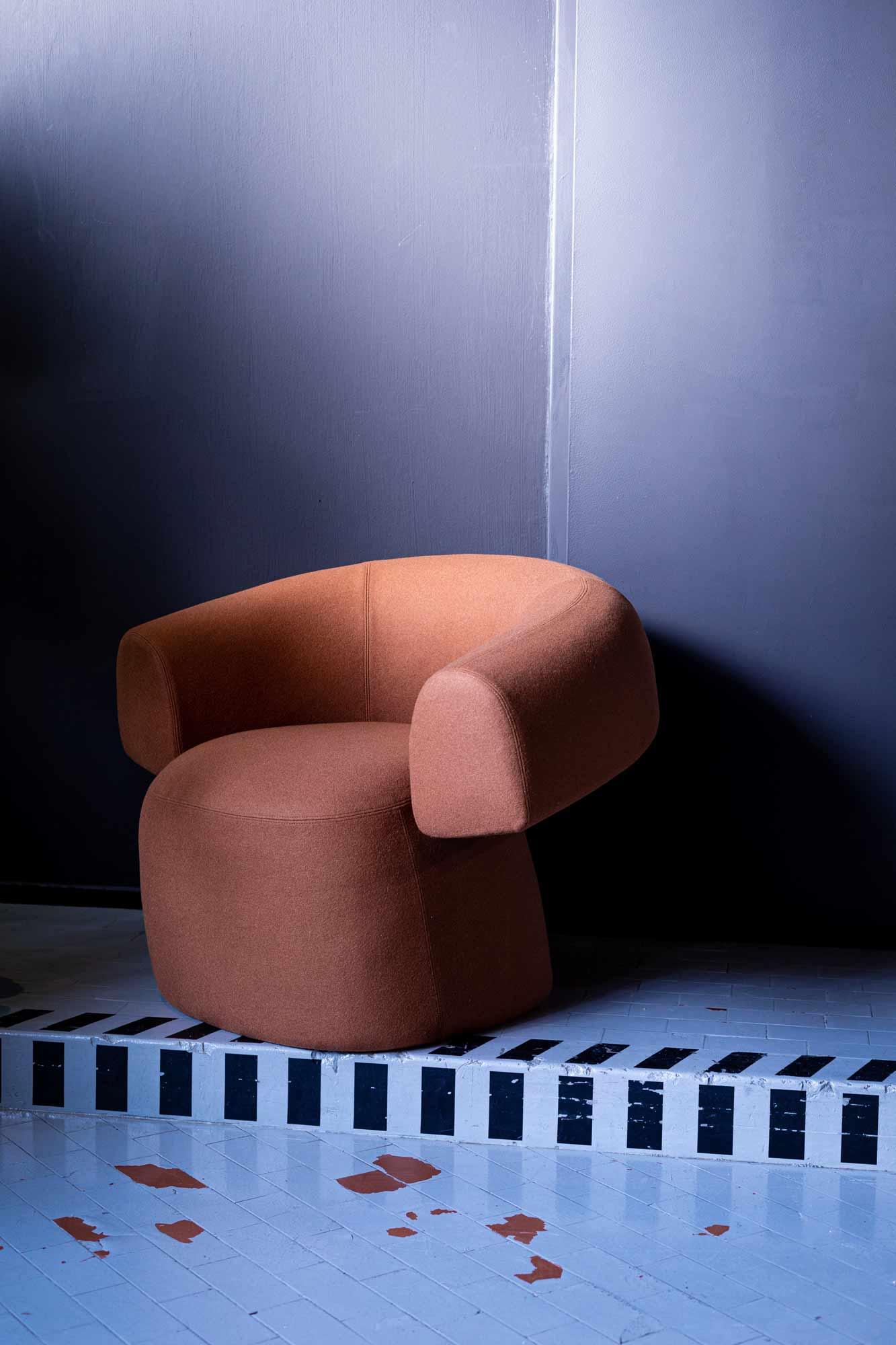 Skulpturaler Sessel von Patricia Urquiola für Moroso