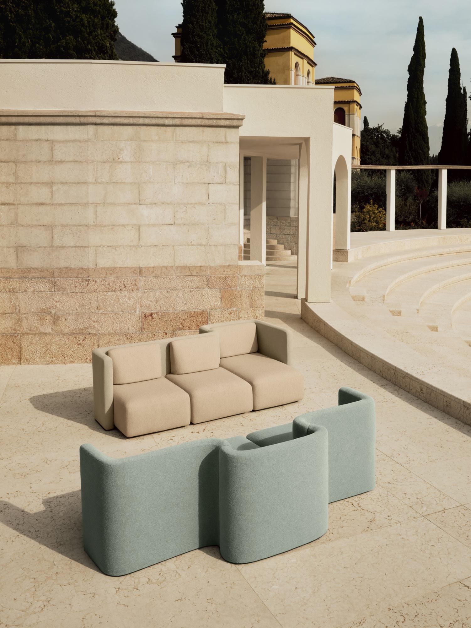 Retro-Sitzmöbel von Cristina Celestino für Saba Italia