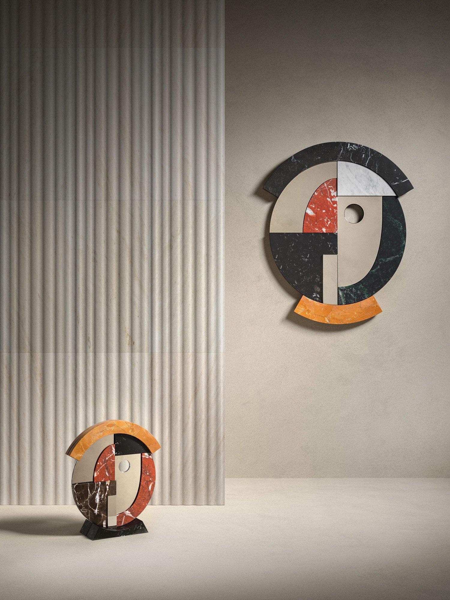 Skulpturale Spiegel von Stephen Burks für Salvatori