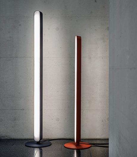 Futuristische Stehleuchte von Jörg Boner für Schätti Leuchten