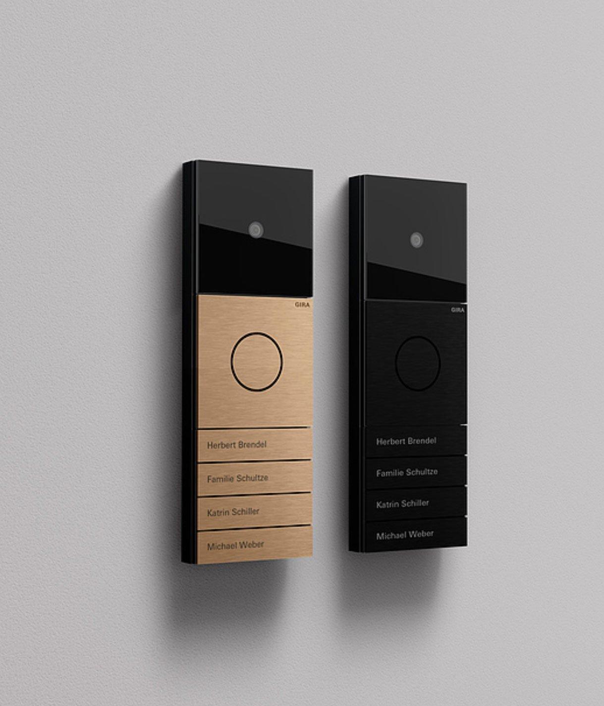 Türsprechanlage von Tesseraux + Partner für Gira in zwei neuen Farben