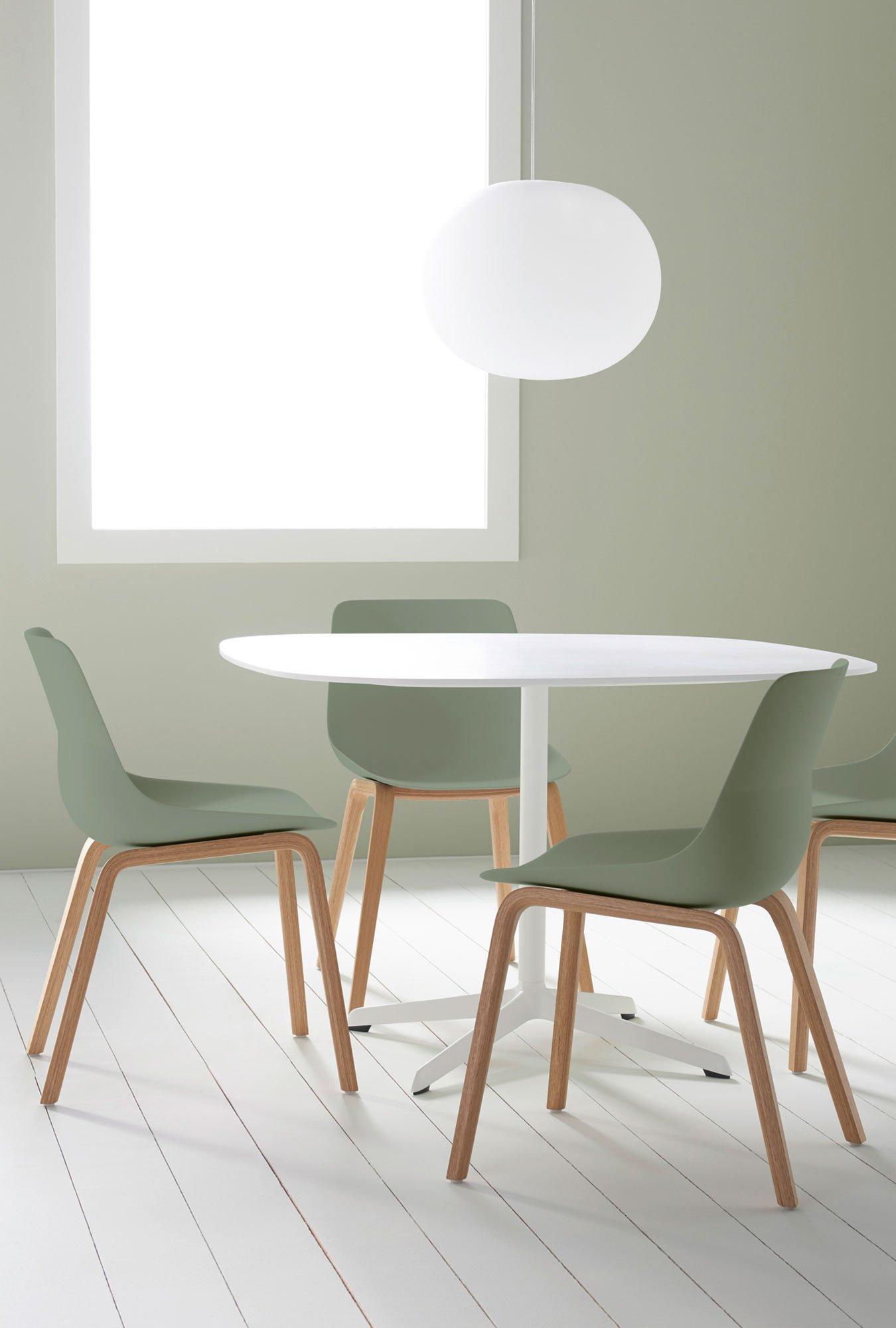 Stuhl von Brunner mit Fokus auf Nachhaltigkeit