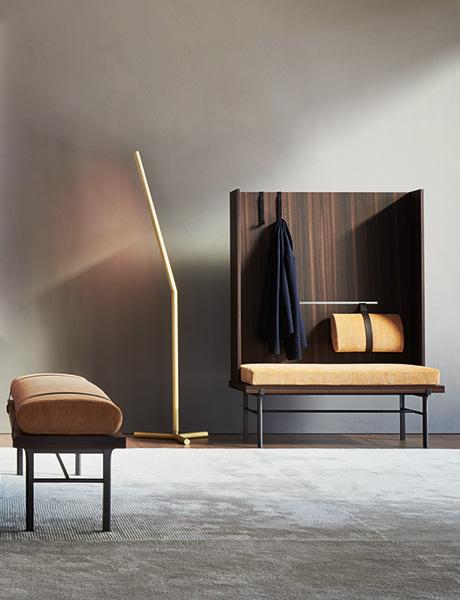 Elegante, perfekt aufeinander abgestimmte Schlafzimmerkollektion von Neri & Hu für Molteni & C.