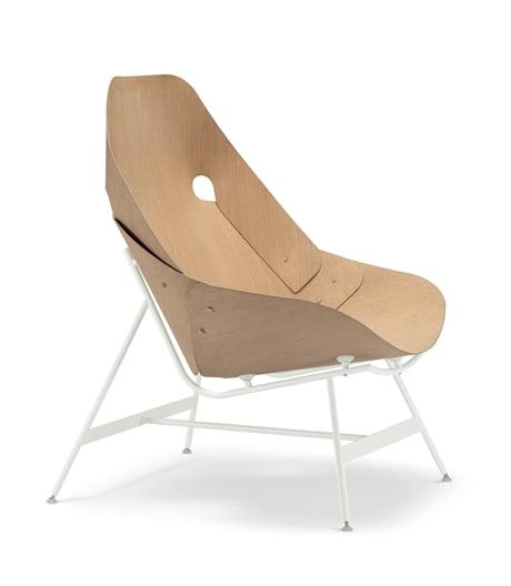 Origami-Prinzip: Sessel von Alfredo Häberli für Alias.