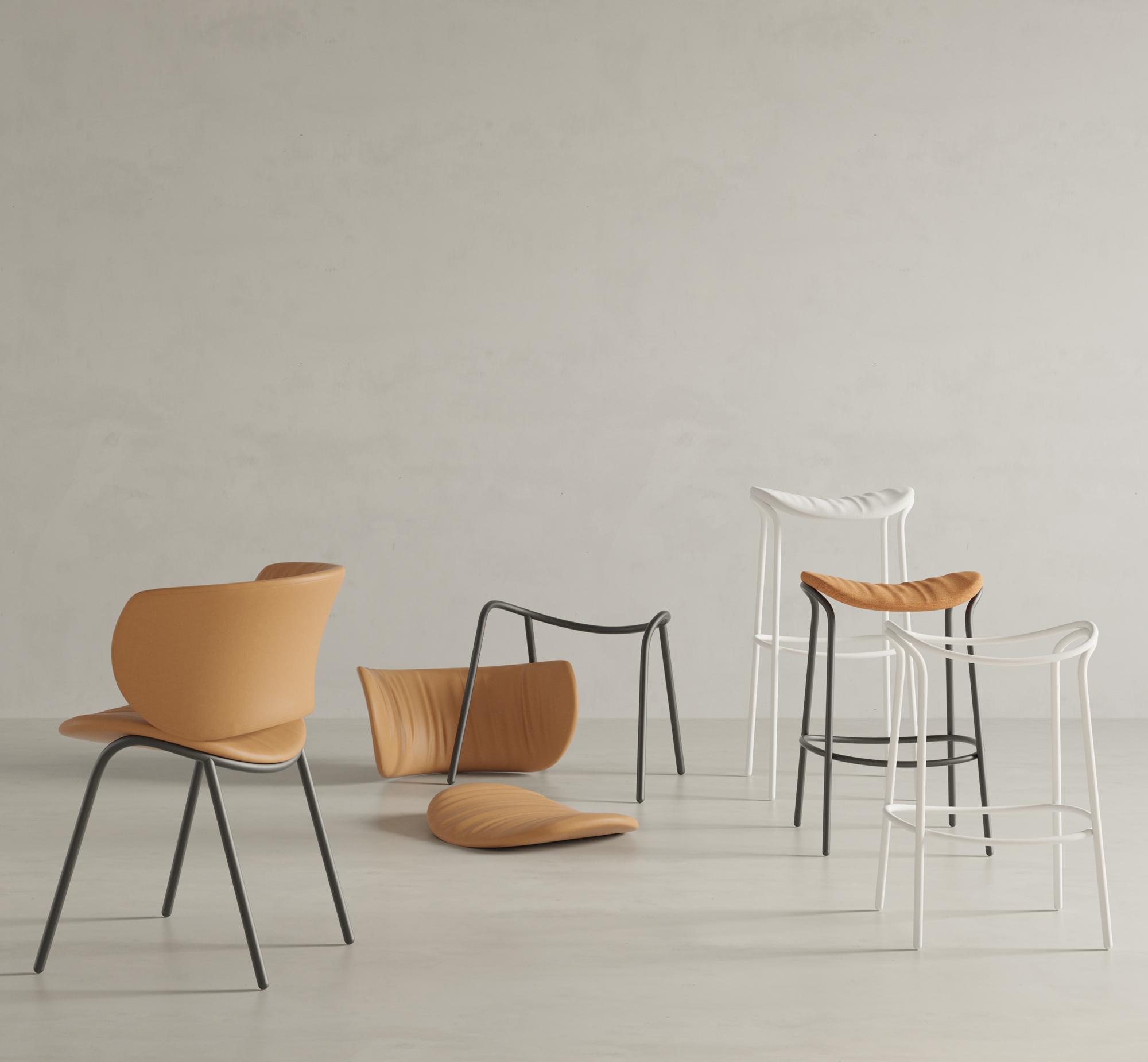 Nachhaltige Sitzmöbelkollektion von Stefan Diez für Viccarbe
