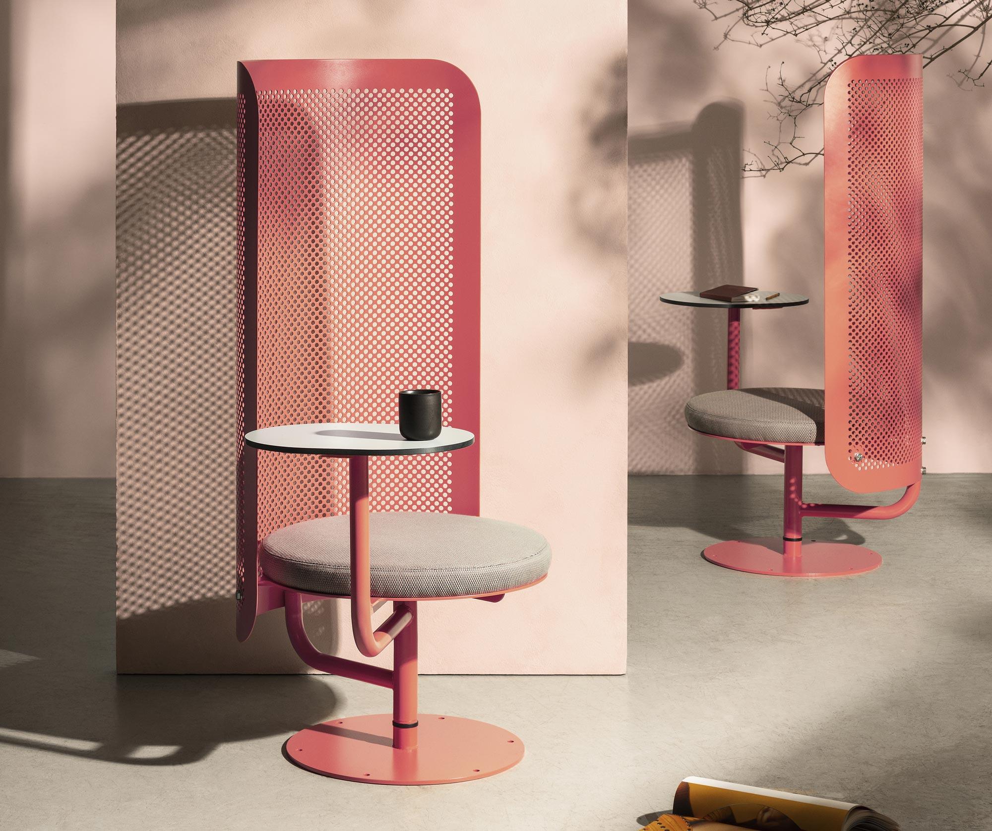 Outdoor-Sitzmöbel von Superlab und Charlotte Petersson Troije für Nola