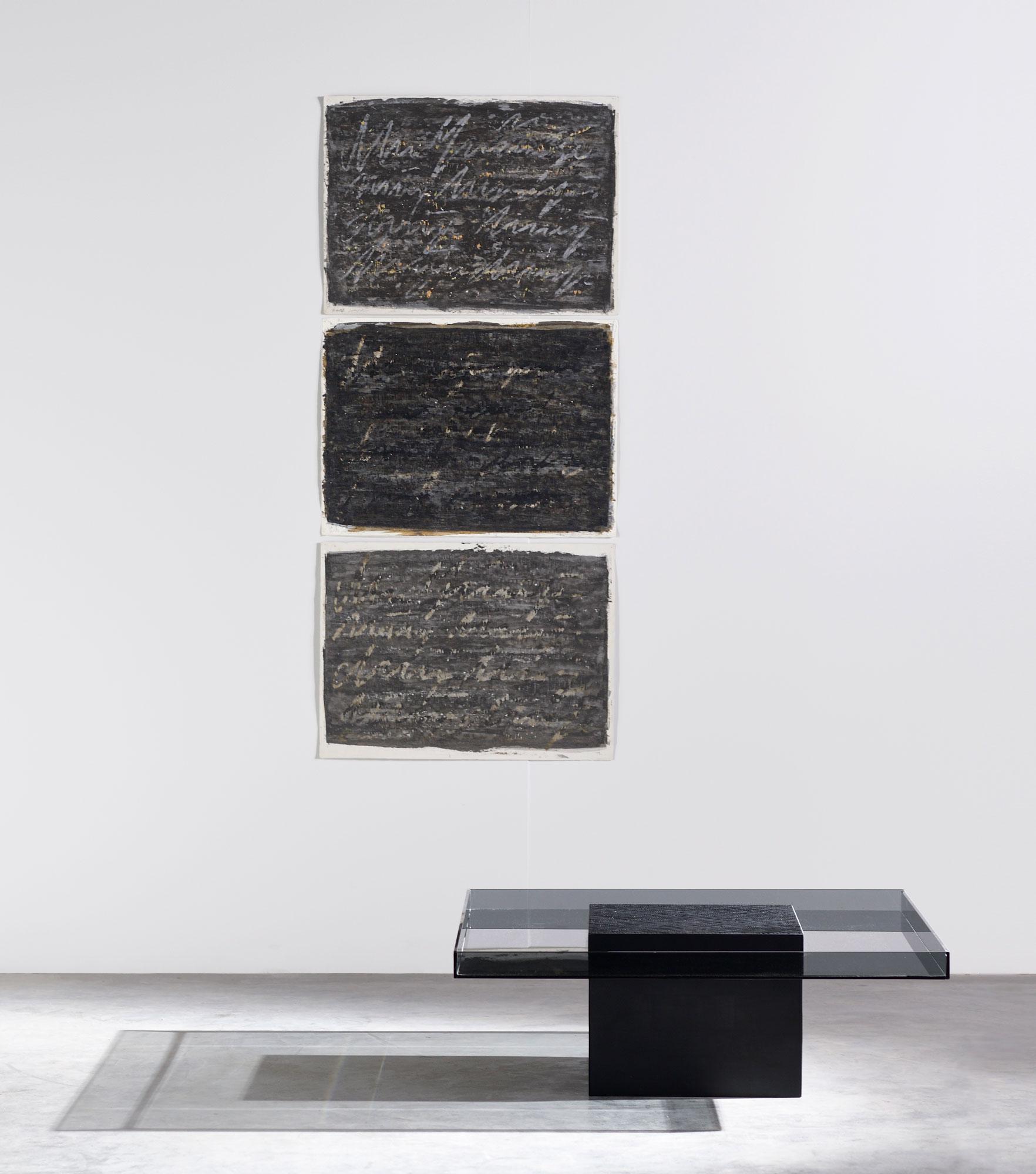Handwerklich anspruchsvolle Tischserie von Jean-Marie Massaud für Zanat