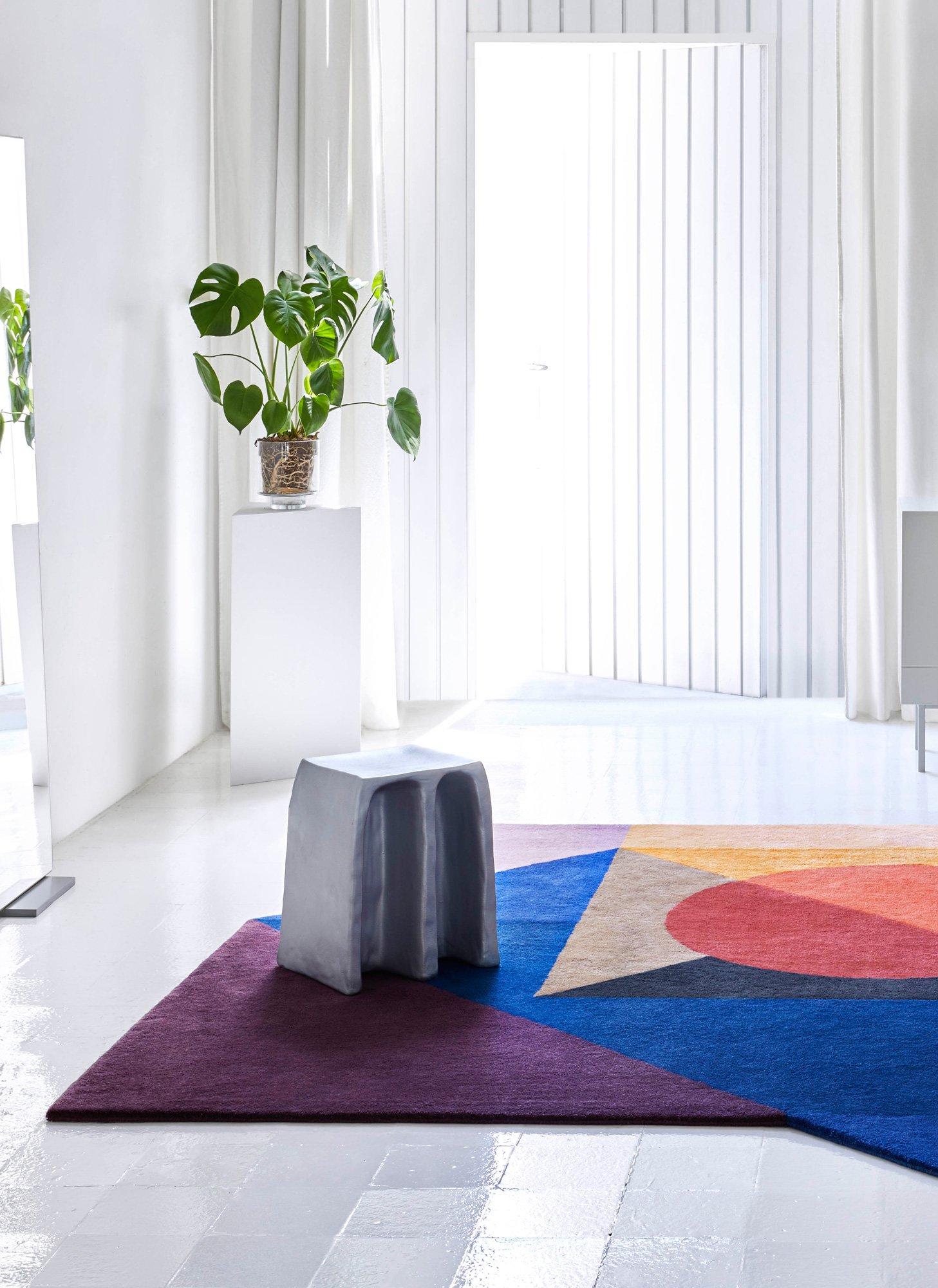 Vom Bauhaus inspirierte Teppichkollektion von Daria Zinovatnaya für GAN