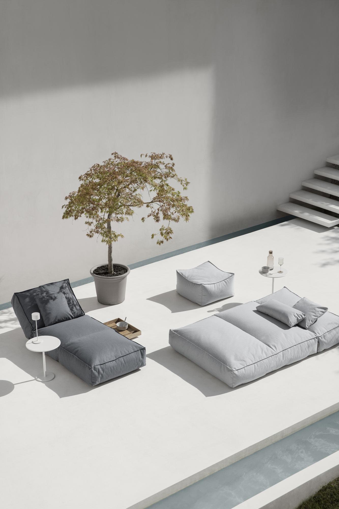 Outdoor-Loungemöbel-Kollektion von Kaschkasch für Blomus