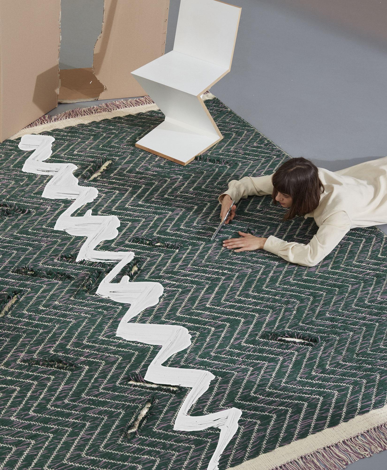 Individuell gestaltbare Teppiche von Yuri Himuro für cc-tapis