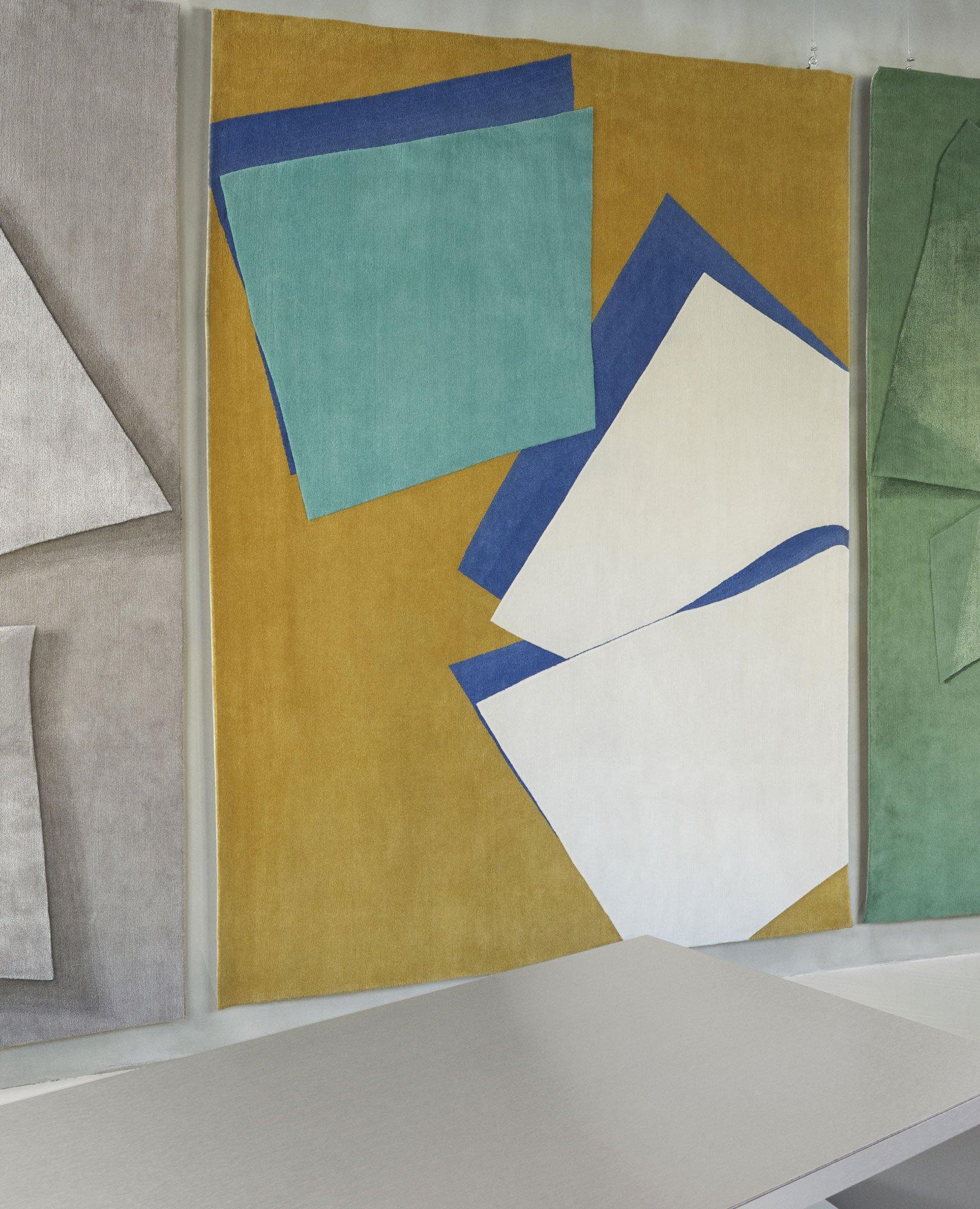 Dreidimensional wirkende Teppiche von Muller Van Severen für cc-tapis