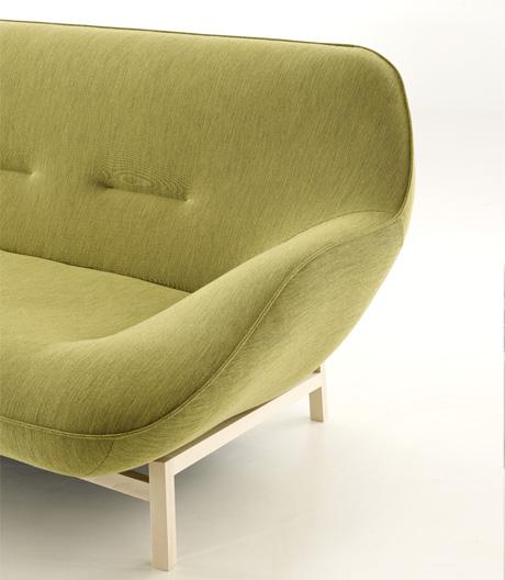 Organisches Sofa von Philippe Nigro für Ligne Roset
