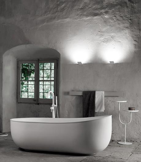 Norm Architects haben für Inbani antike Badvorbilder ins Hier und Jetzt übersetzt