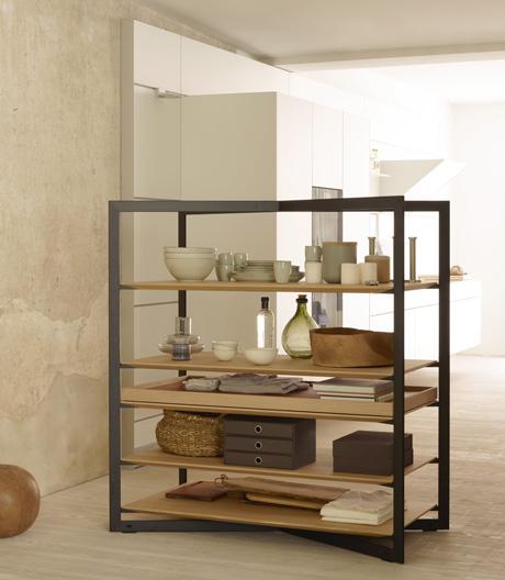 Ein multifunktionales Objekt, das Räume verbindet