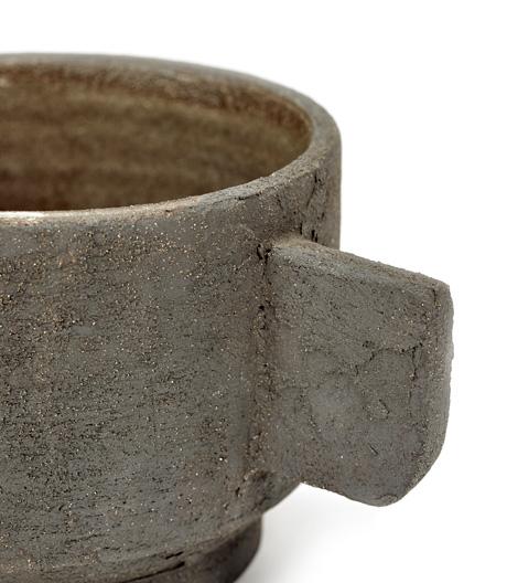 Maison & Objet Herbst 2019: archaische Becher und Schalen aus Terrakotta von Serax