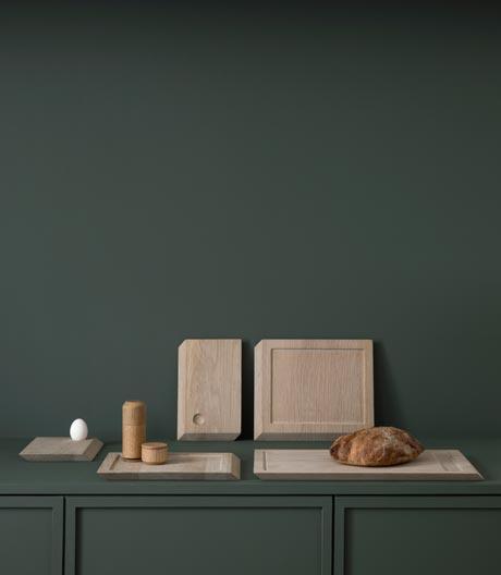 Küchenalleskönner: robustes Schneidbrett vom dänischen Label By Wirth.