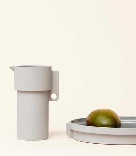 Wenn Keramik auf schlichte Formen trifft: Steinwerkkollektion von Herman Studio für Form & Refine.