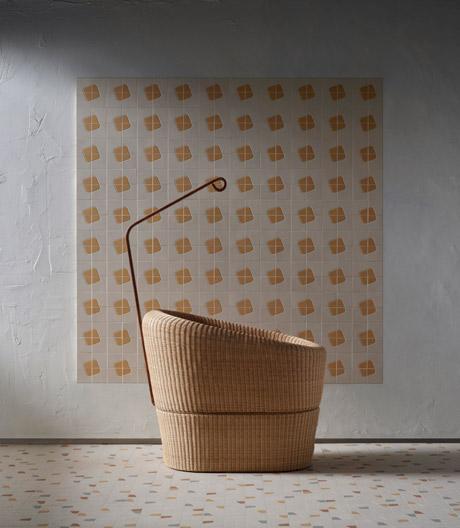 Fliesenkollektion aus Steinzeug von Studio Irvine für Mosaico+