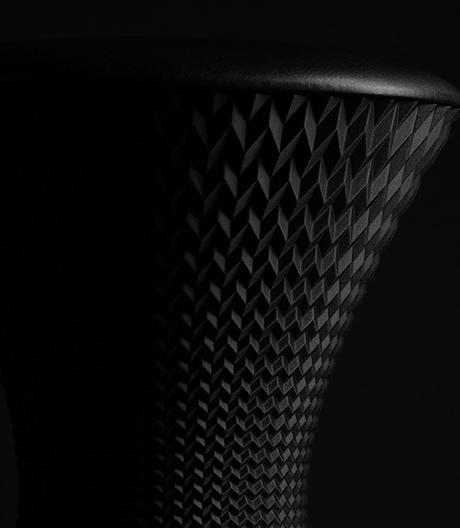 Thorsten Francks 3D-gedruckter Schaukelhocker für Wilkhahn