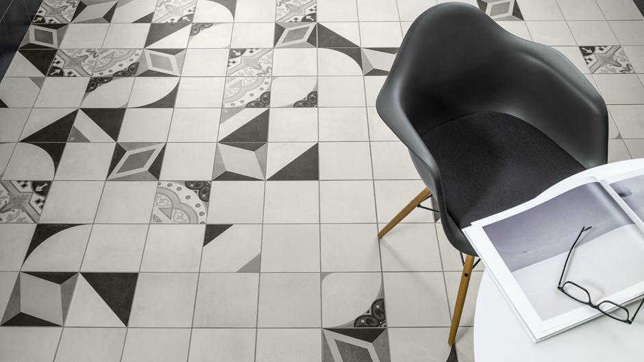 Neuinterpretation der Mettlacher Platten von Villeroy & Boch Fliesen