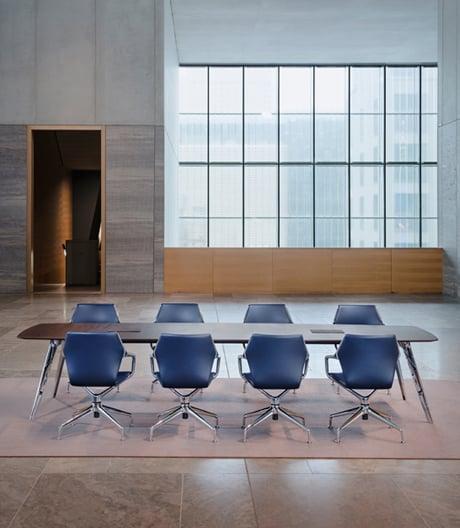 Smarter Konferenztisch von Jehs+Laub für Brunner