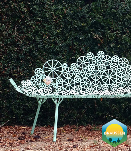 Fernando & Humberto Campana konstruieren Gartenmöbel aus Seesternen