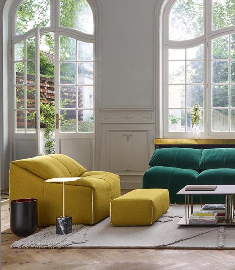 Ligne Roset legt den Sofa- und Sesselklassiker von Annie Hiéronimus wieder auf
