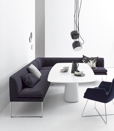 Gepolsteren Bank für Küche, Wohnzimmer oder Büro von Jehs+Laub