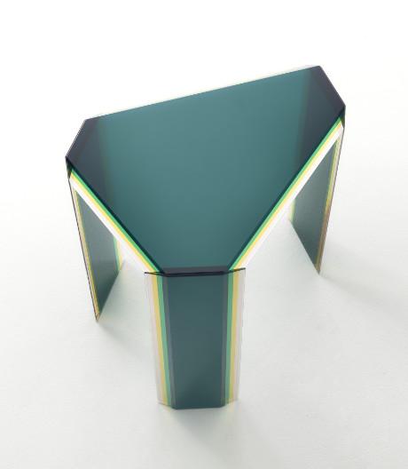Bunte Glasskulpturen: Tischkollektion von Patricia Urquiola für Glas Italia.